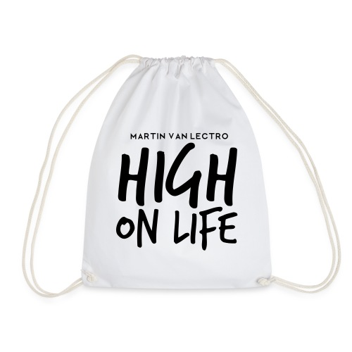 Martin Van Lectro - High on Life - Merch. - Turnbeutel