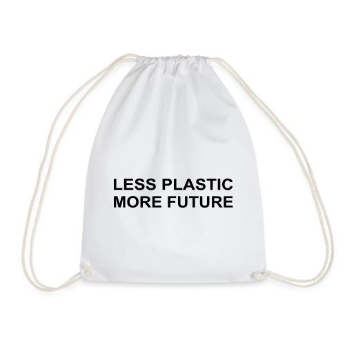 Less Plastic More Future - Turnbeutel