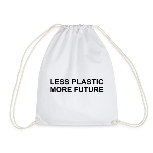Less Plastic More Future - Turnbeutel