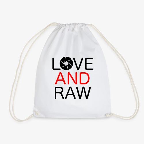 Love Raw - Drawstring Bag