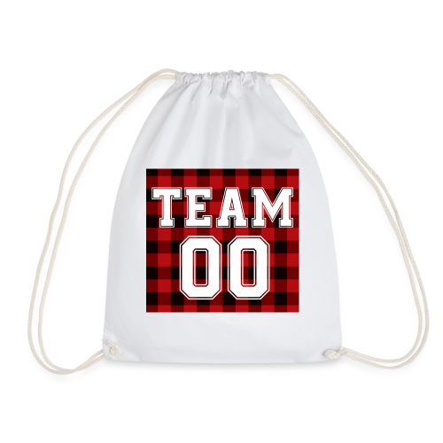 TEAM 00 T-shirt White - Gymtas