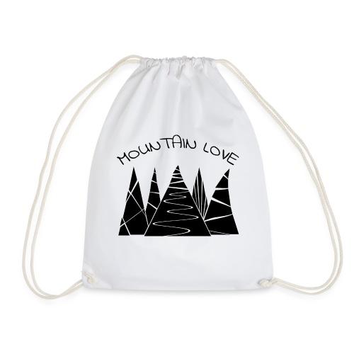 Outdoor Berge Alpen Mountain Love - Turnbeutel