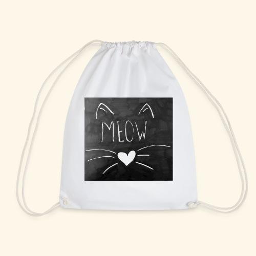 Meow - Drawstring Bag