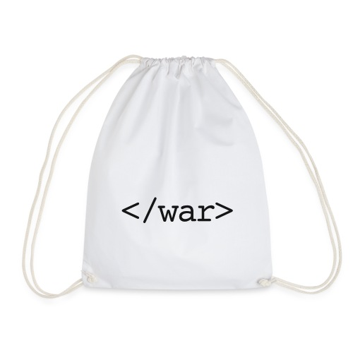 end was now - Drawstring Bag