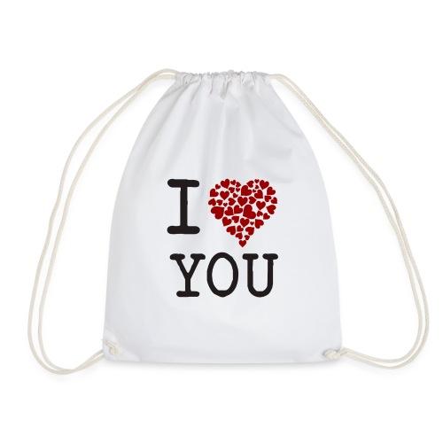 I Love You - Mochila saco