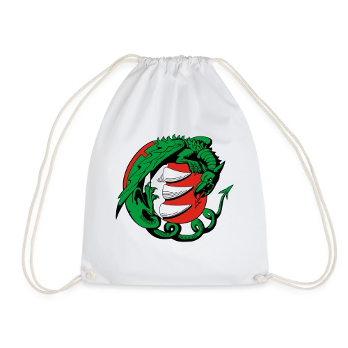 Hungary Dragon - Drawstring Bag