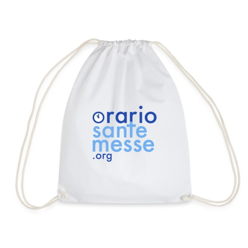 Orario Sante Messe T-shirt front - Sacca sportiva