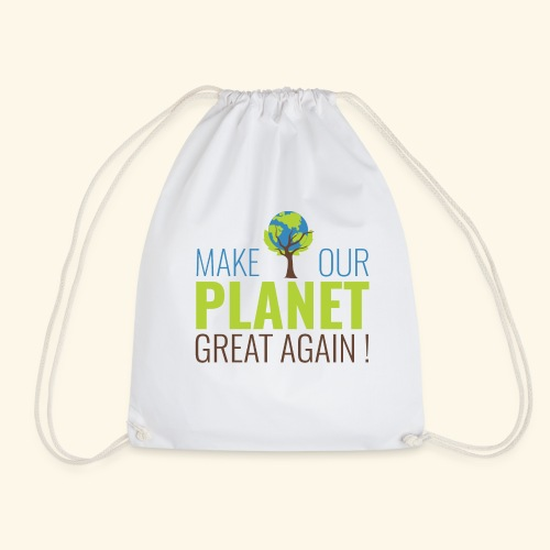 Make our planet great again - Sac de sport léger