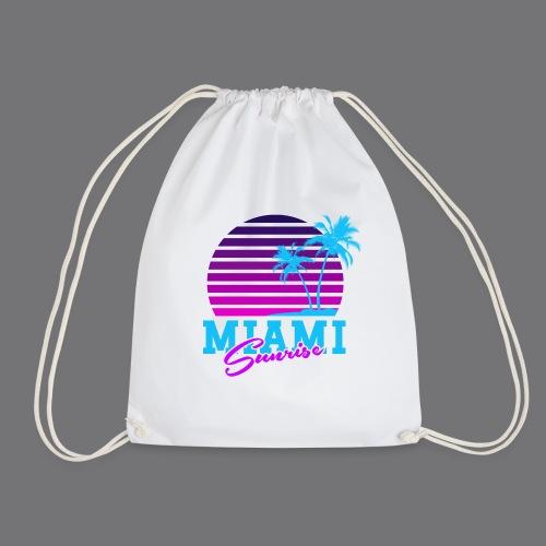MIAMI SUNRISE t-shirts - Drawstring Bag