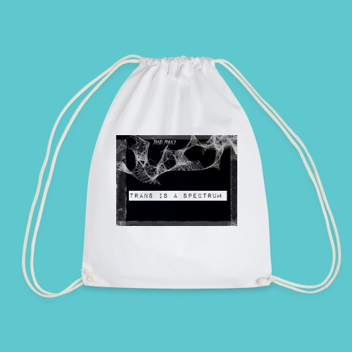 Trans is a spectrum - Drawstring Bag