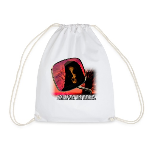 Reaper in Rear - Drawstring Bag