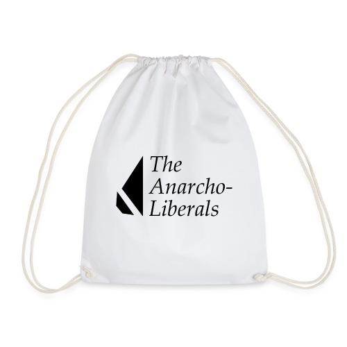 The Anarcho-Liberals: Banner - Drawstring Bag