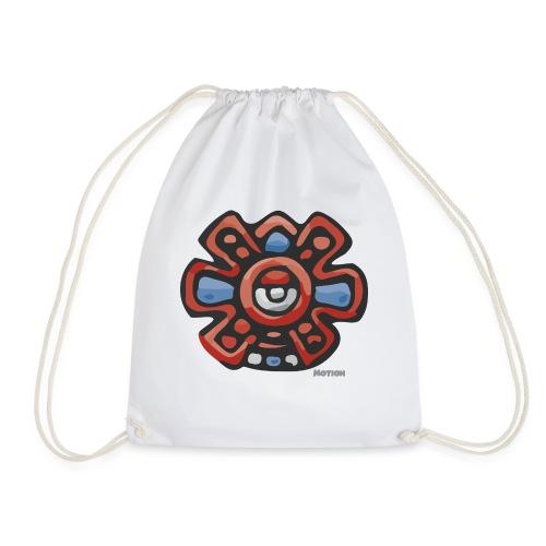 Aztec Motion Earth - Drawstring Bag