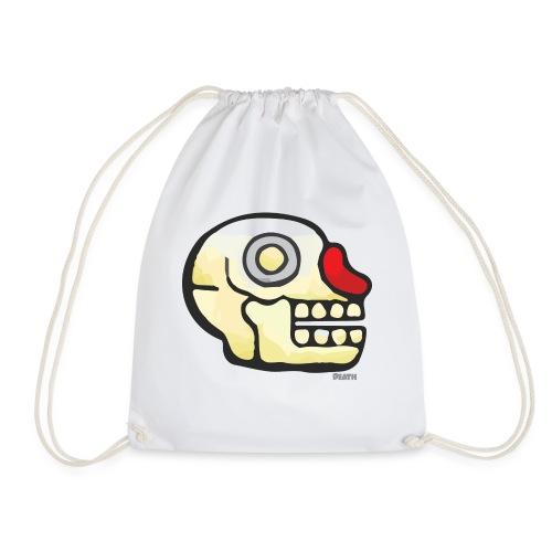 Aztec Icon Death - Drawstring Bag