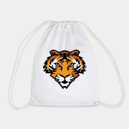 Tiger Mascot - Drawstring Bag
