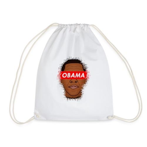 obama distorted - Mochila saco