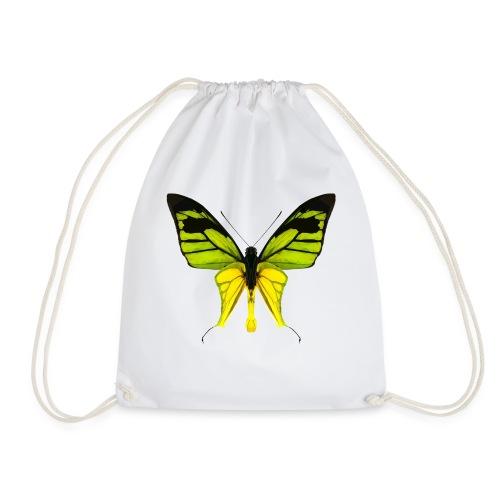LowPoly Ornithoptera Paradisea - Gymnastikpåse