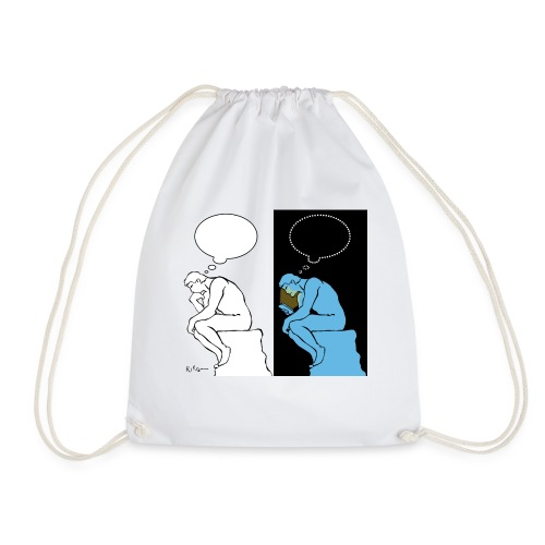 The Thinker - Drawstring Bag