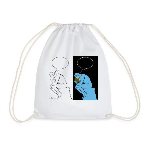 The Thinker - Drawstring Bag