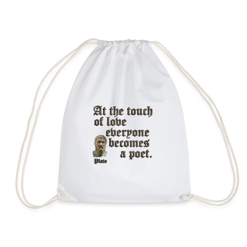 At the touch of love - Drawstring Bag