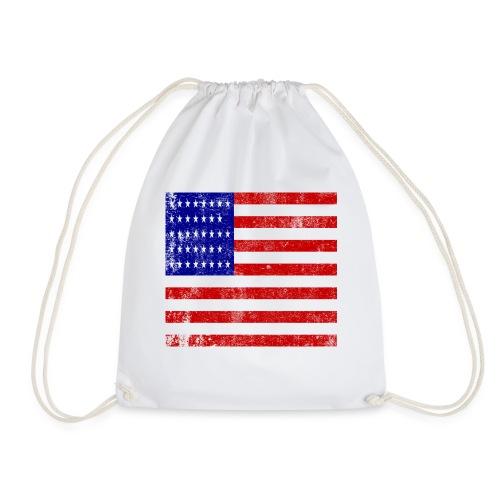 funny american flag mask - Sac de sport léger