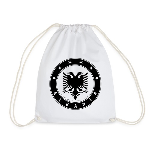 Patrioti Albania Black - Turnbeutel