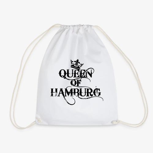 41 Queen of Hamburg Krone Kiez Königin - Turnbeutel
