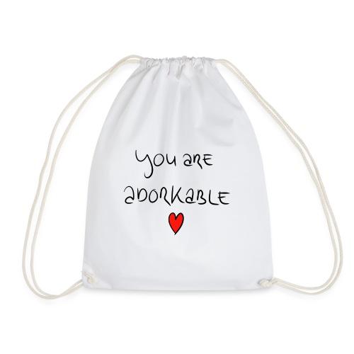 adorkable - Drawstring Bag
