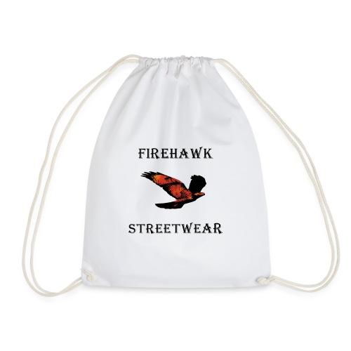 Fiery Hawk - Drawstring Bag