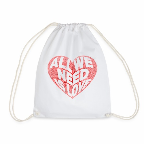 All we need is Love - Mochila saco