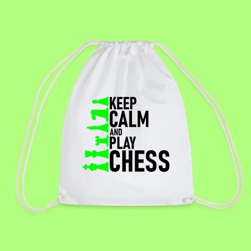 school chess shirt Spiel Schule - Turnbeutel
