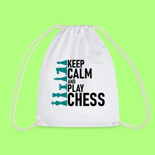 Spiel shirt Schule chess school - Turnbeutel