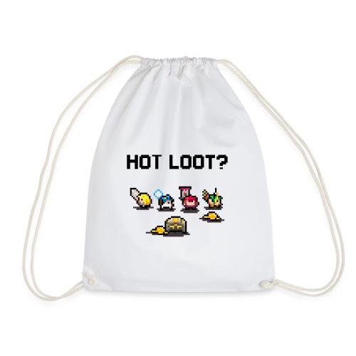 Hot Loot? - Drawstring Bag