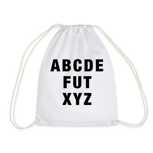 ABCDEFUTXYZ - Turnbeutel