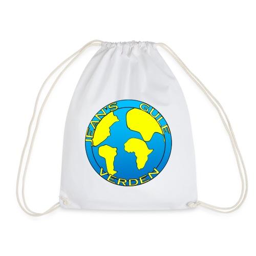 jean's gule verden logo earth - Gymbag