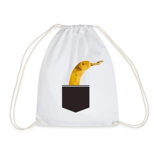 Banane in der Tasche - Turnbeutel