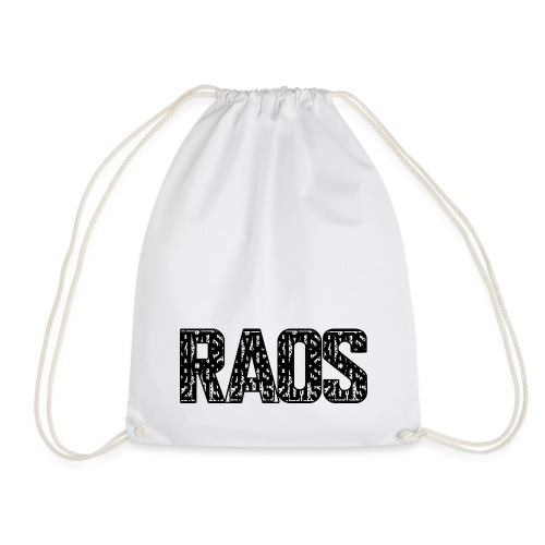 Raos Logo Letter Art - Turnbeutel