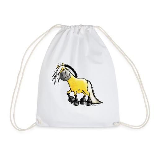 fjord_horse-png - Drawstring Bag