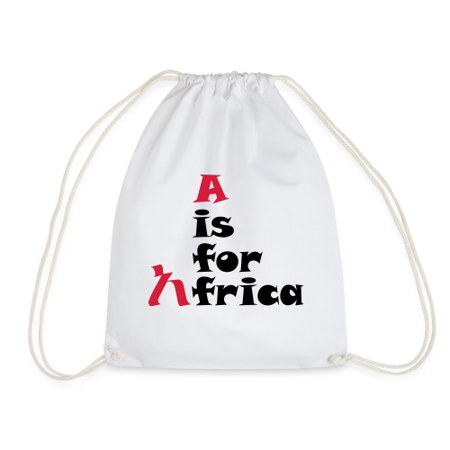 aisforafrica2 - Drawstring Bag