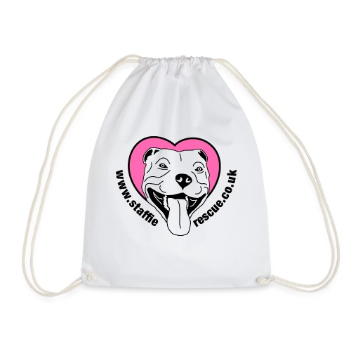 Staffie Rescue - Drawstring Bag