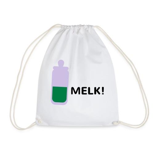 Grappige Rompertjes: Melk - Gymtas