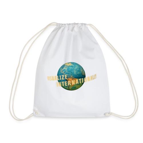 Visualize Internationaly Girls Tshirt - Drawstring Bag