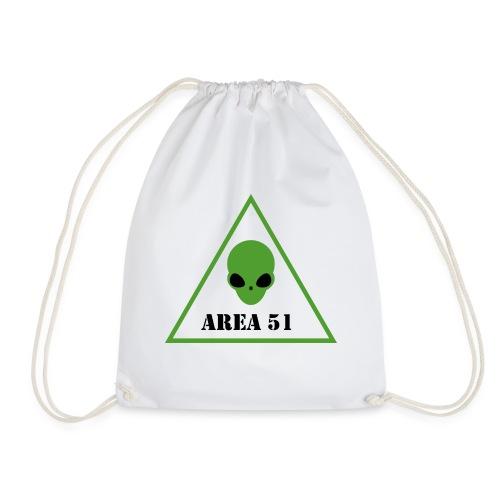 AREA 51 ALIEN - Sacca sportiva