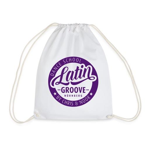 Latin Groove Logo - Turnbeutel