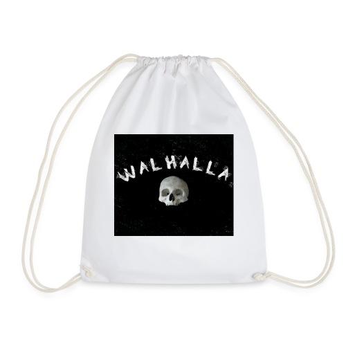 WALHALLA SCULL MOTIV FASHION WIKINGER - Turnbeutel