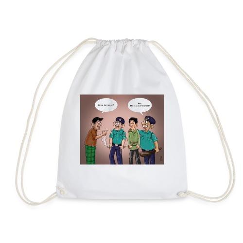 Cartoonist - Drawstring Bag