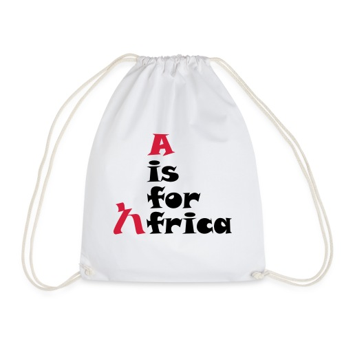 aisforafrica2 - Drawstring Bag