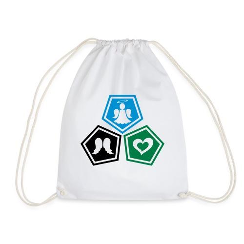 Tee shirt baseball Enfant Trio ange, ailes d'ange - Drawstring Bag