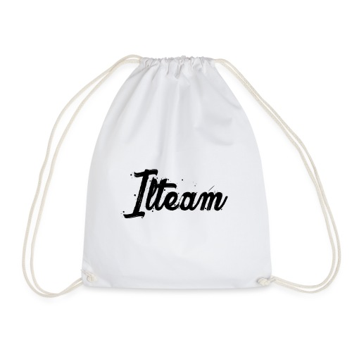 Ilteam Black and White - Sac de sport léger