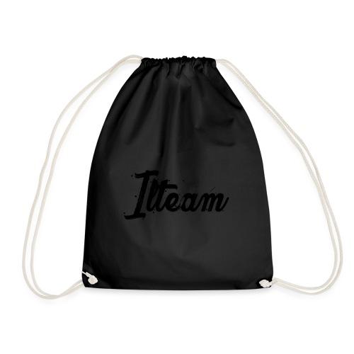 Ilteam Black and White - Sac de sport léger